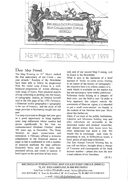 Newsletter No 4 cover
