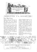 Newsletter No 6 cover
