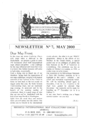 Newsletter No 7 cover
