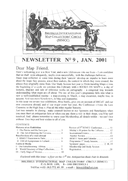 Newsletter No 9 cover