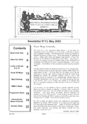 Newsletter No 13 cover